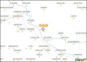 map of Ishuv
