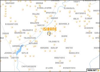 map of Isibane