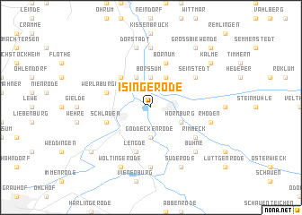 map of Isingerode
