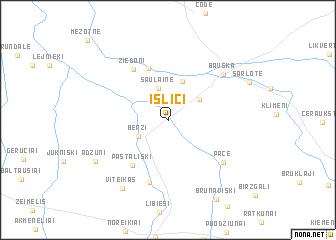 map of Īslīči