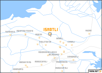 map of İsmǝtli