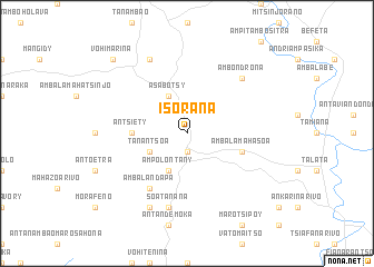 map of Isorana