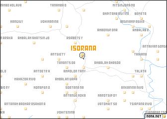 map of Isorana