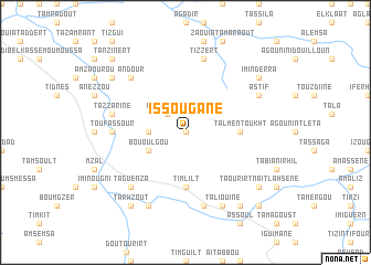 map of Issougane