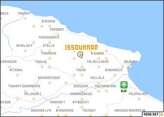 map of Issoummar