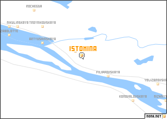 map of Istomina