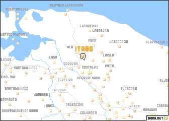 map of Itabo