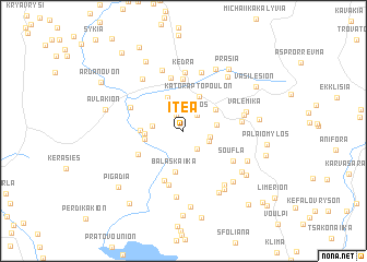 map of Itéa