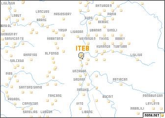 map of Iteb