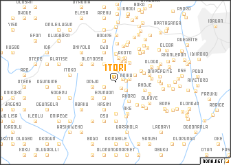 map of Itori