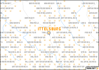 map of Ittelsburg