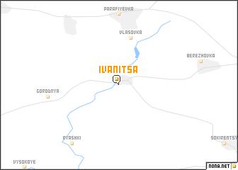 map of Ivanitsa