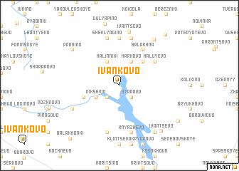 map of Ivankovo