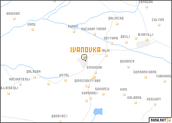 map of İvanovka