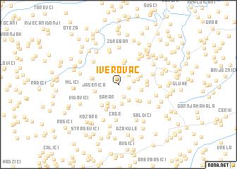 map of Iverovac