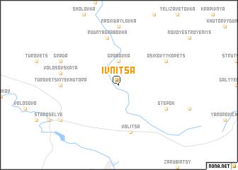 map of Ivnitsa