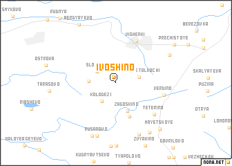 map of Ivoshino