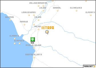 Ixtapa Mexico Map Nona Net