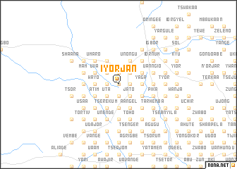 map of Iyorjan