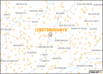 map of 'Izbat Abū Siwayḩ
