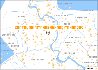 map of 'Izbat al 'Āmirīyah ash Sharqīyah Raqm 2