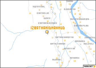 map of 'Izbat Ḩāmid Maḩmūd