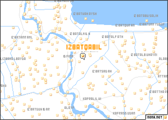 map of 'Izbat Qābil