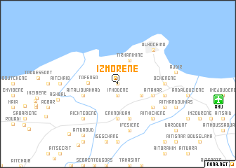map of Izmorene