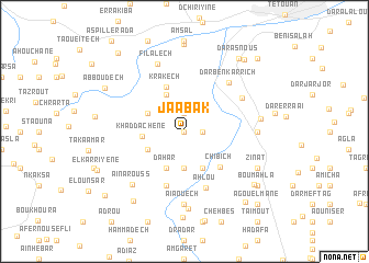 map of Jaabak