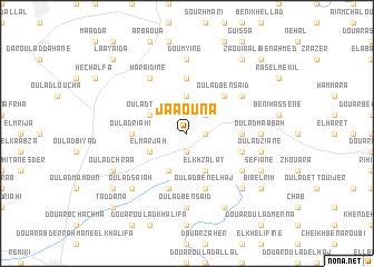 map of Jâaouna