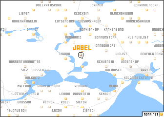 map of Jabel