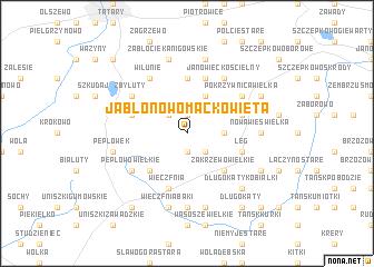 map of Jabłonowo Maćkowięta