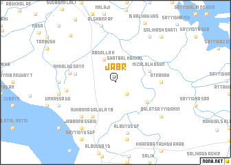 map of Jabr