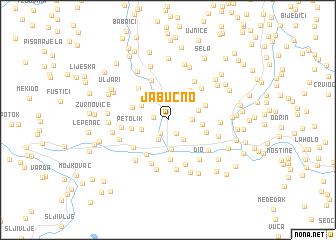 map of Jabučno