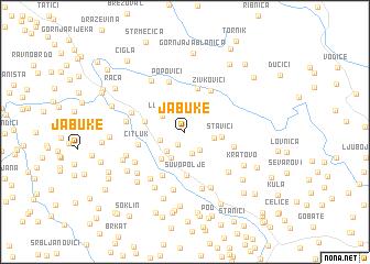 map of Jabuke