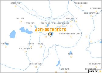 map of Jacha Achocata