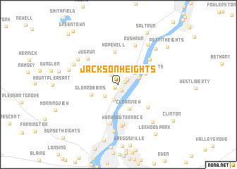 Jackson Heights United States  USA Map  Nona