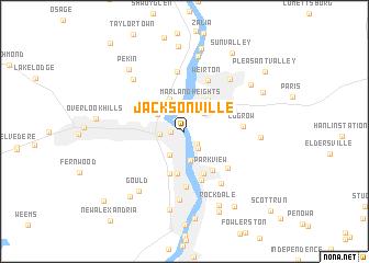 Jacksonville United States  USA map  nonanet