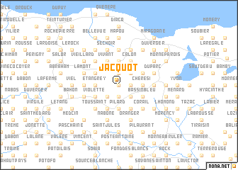 map of Jacquot
