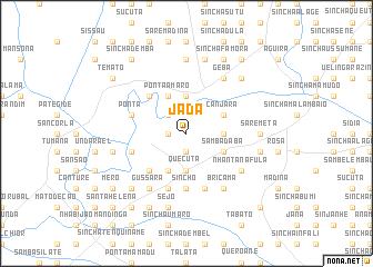 map of Jada