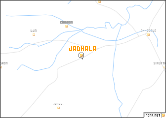 map of Jadhāla