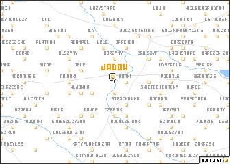 map of Jadów