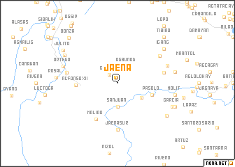 map of Jaena