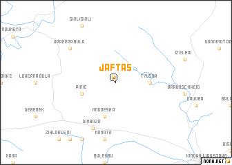 map of Jafta's
