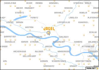 map of Jagel