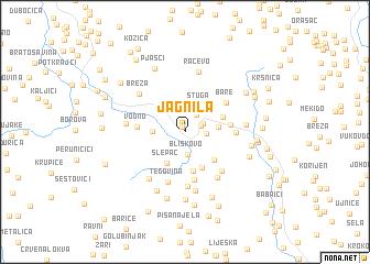 map of (( Jagnila ))