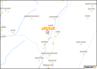 map of Jagsūr