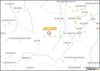 map of Jaguar