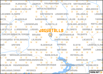 map of Jaguatalla
