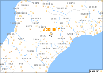 map of Jaguimit